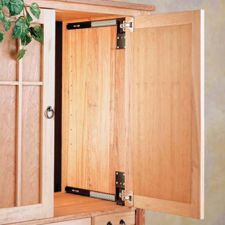Pocket Door System, Accuride 123 (35 Mm Hinges Included)