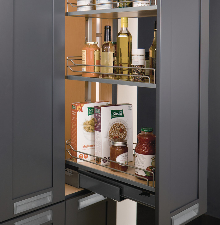 Pull Out Pantry Frame Full Extension 256 Lbs Weight