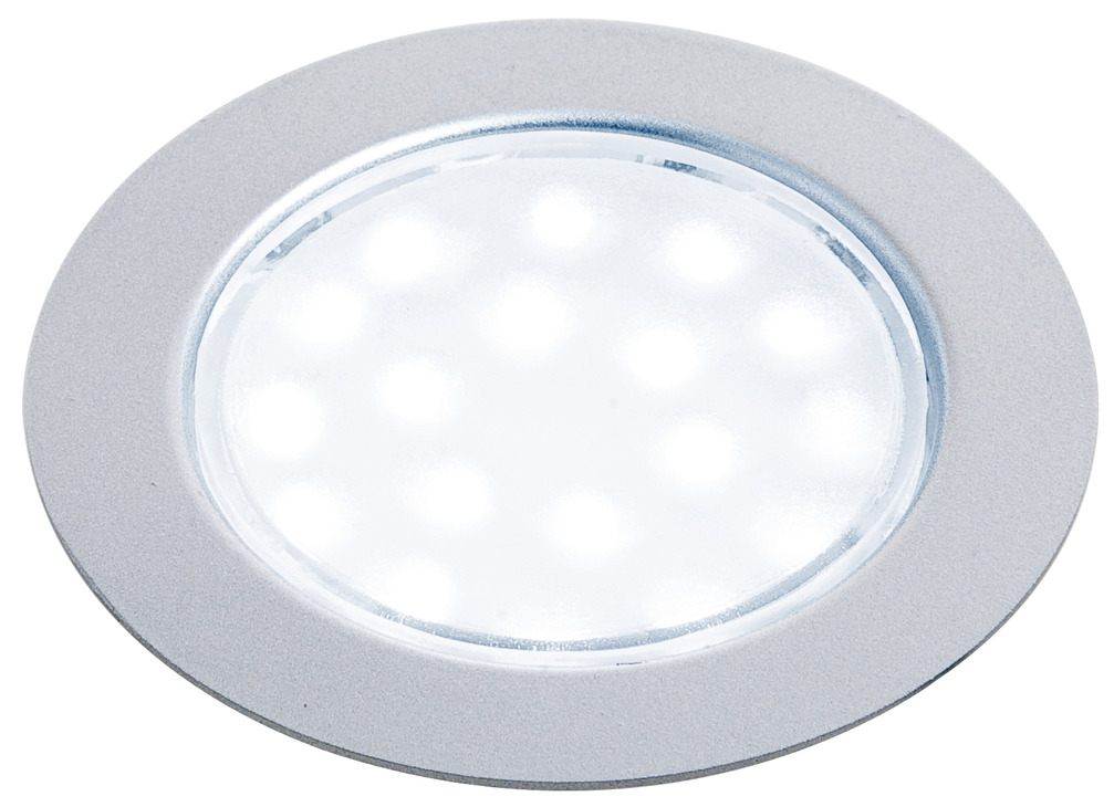 recess mounted round puck light 12 v led in the häfele america shop