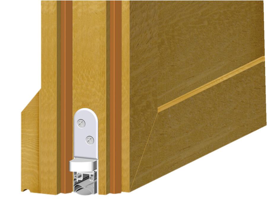 Retractable door seal DDS 20 for wooden doors Startec  sc 1 st  Hafele & Retractable door seal DDS 20 for wooden doors Startec - in the ...