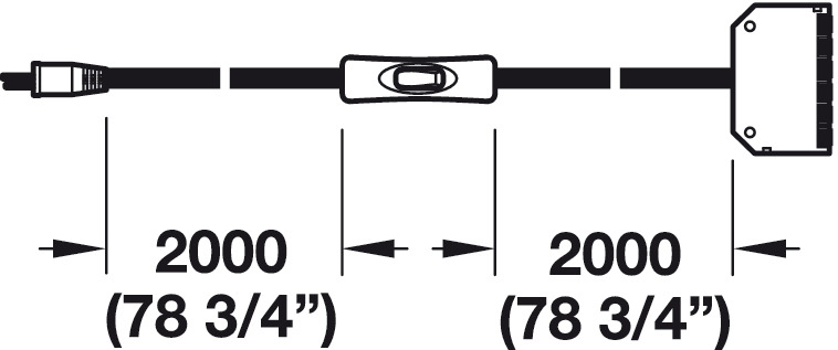 secondary lead  for 12 v wall plug drivers
