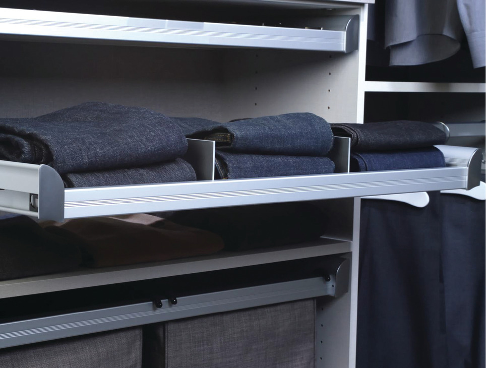 shelf dividers with clips engage