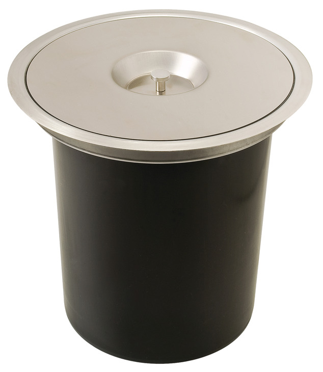 Black Kitchen Bin Sale: Single Waste Bin, For Flush Or Surface Mounting