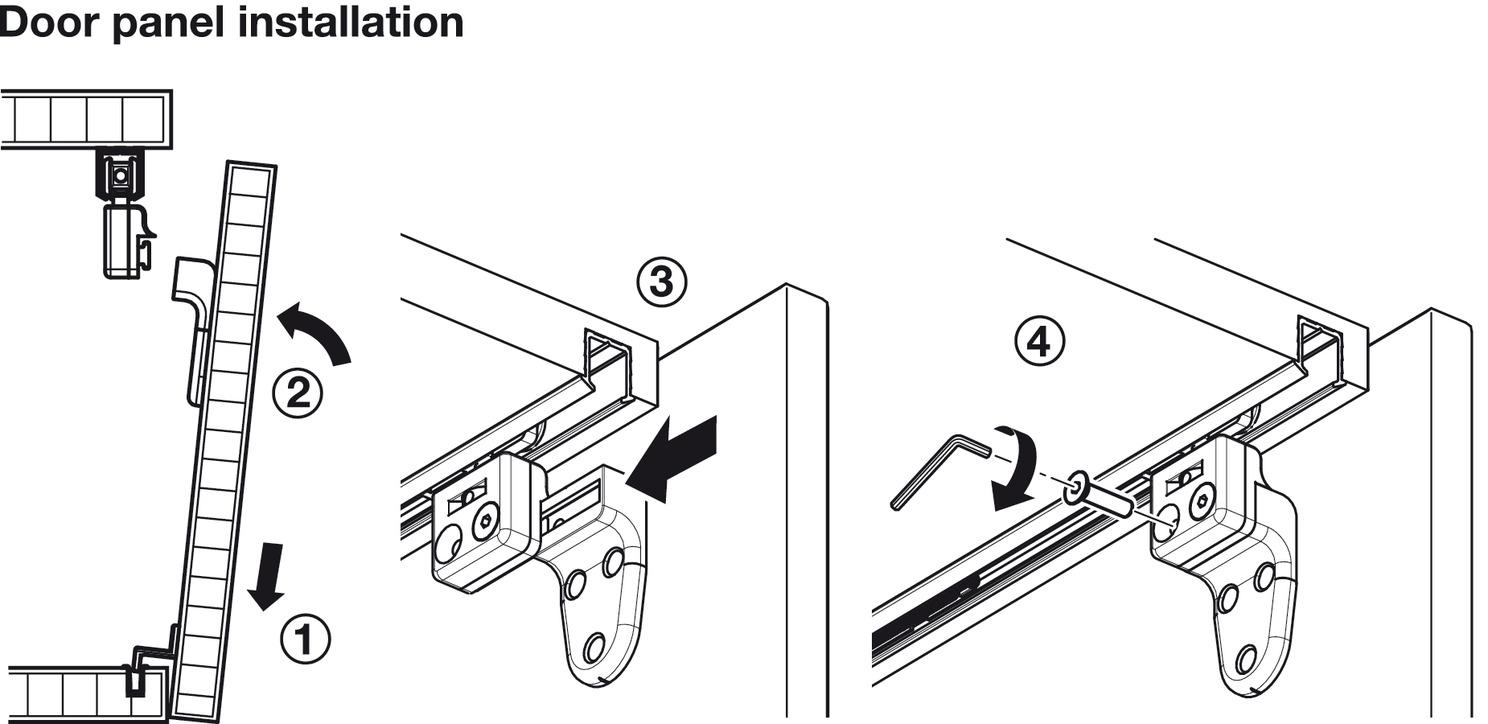 Sliding Door Hardware Slido Classic 20 Vf C Set In The Hfele