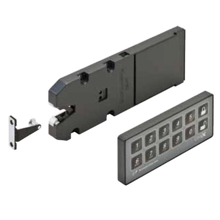 Stealthlock Battery Powered Rf Cabinet Lock Set In The Häfele