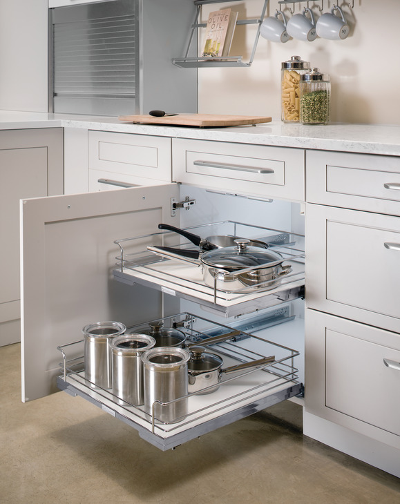 Storage Tray for Internal Drawer PullOut in the Hfele America
