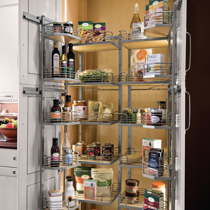 Tandem Chef S Pantry For 68 Quot Cabinet Frame In The