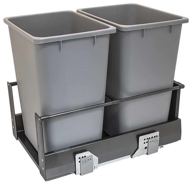 Waste Bin Pull Out, Häfele MX, Double