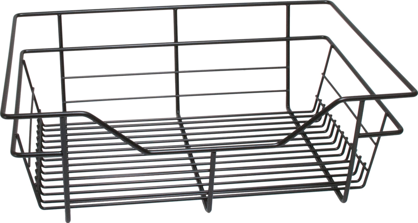 Hafele America wire closet basket with extension slides in the häfele america shop