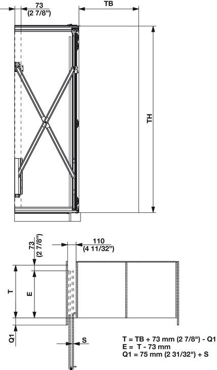 Wooden Folding Sliding Doors, Hawa Folding Concepta 25 - in the ...