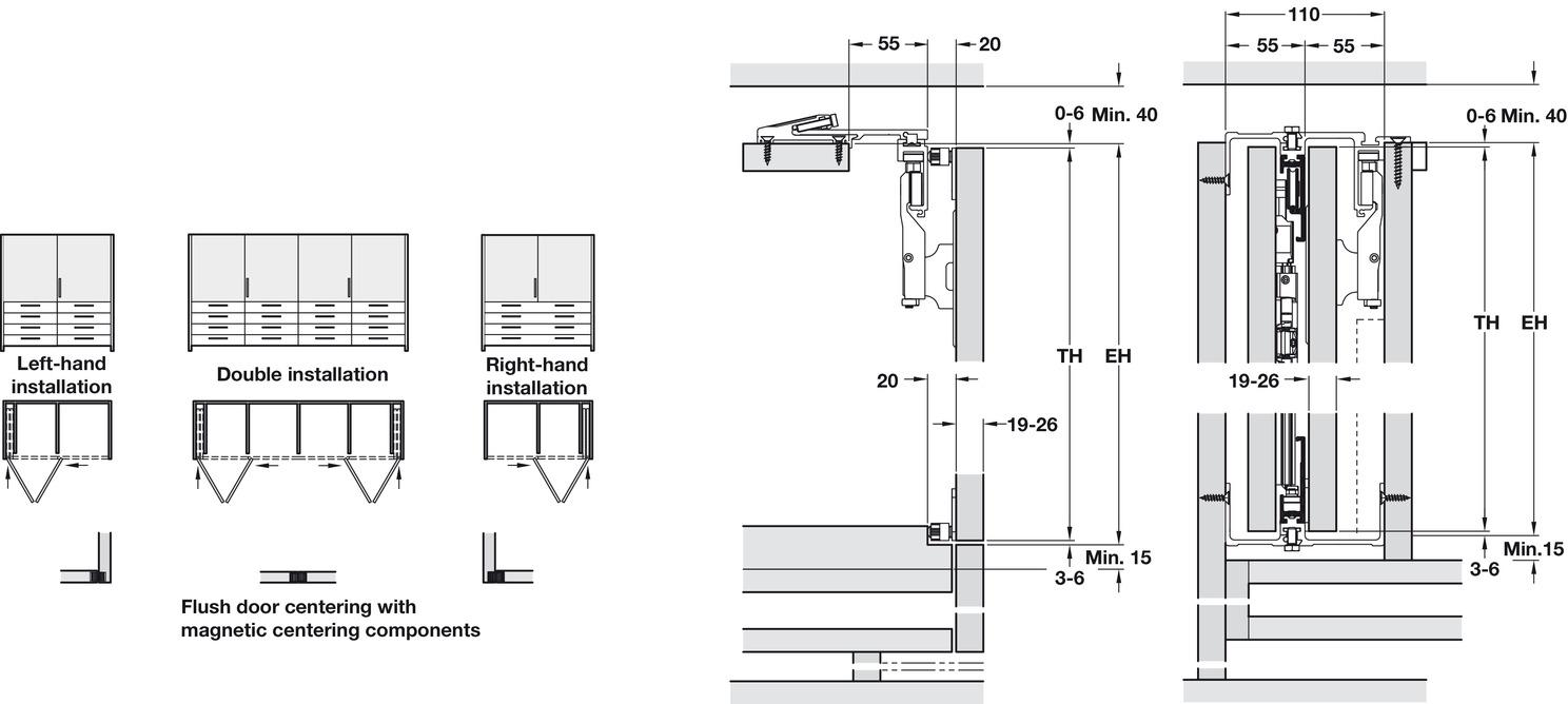Wooden Folding Sliding Doors Hawa Folding Concepta 25 In The