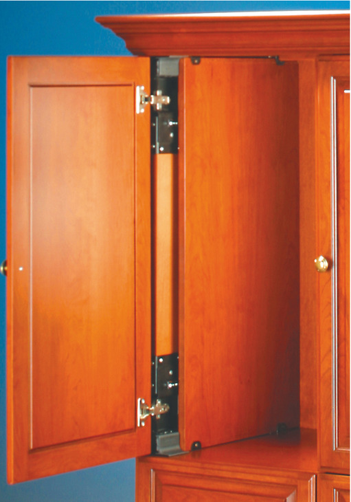 Wooden Pivot Sliding Doors Accuride 1321 Pro Pocket In