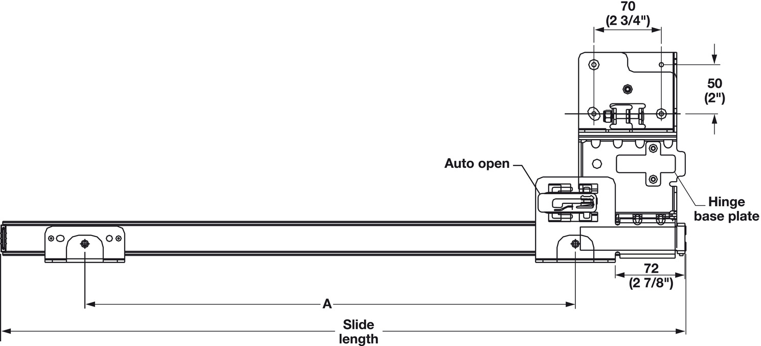 Wooden Pivot Sliding Doors, Accuride 1321 Pro Pocket™