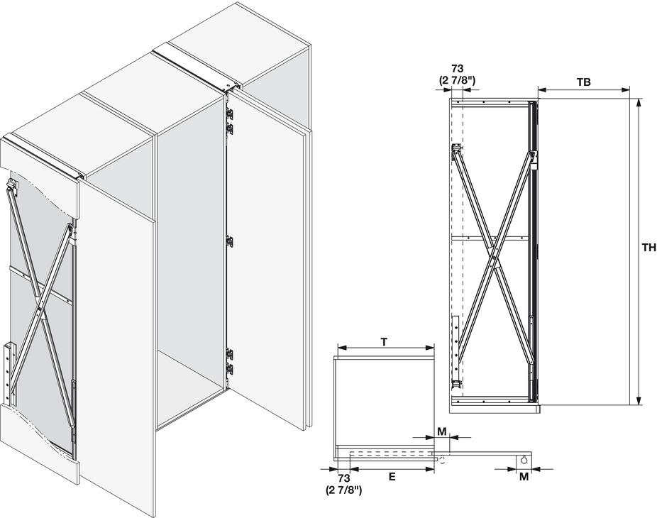 Wooden Pivot Sliding Doors Hawa Concepta In The Häfele