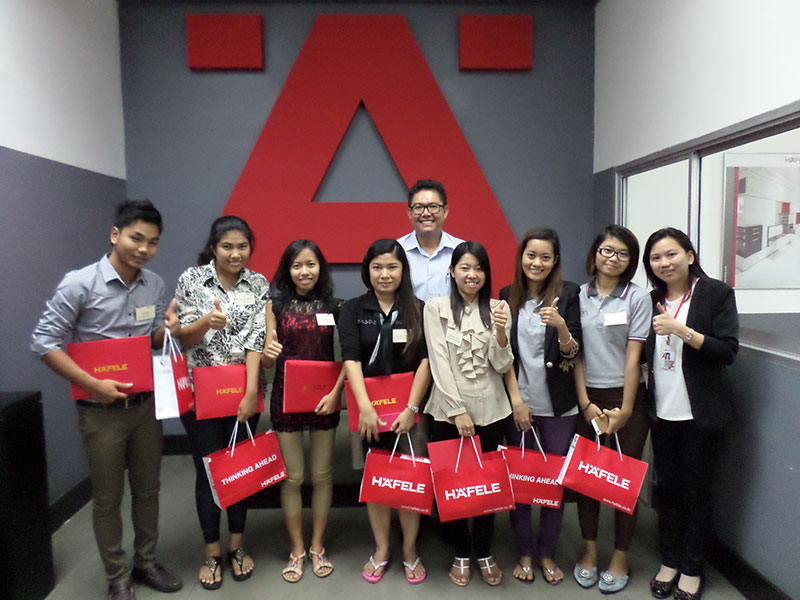 Training Myanmar staff